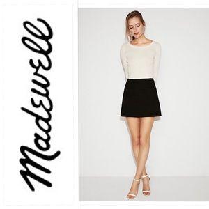Madewell Black A-Line Skirt Sz. 2